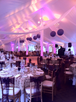 Uplighting Sets The Mood For Your Wedding Reception Main Event